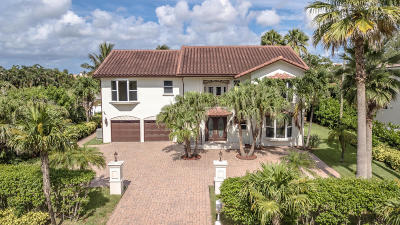 Palm Beach County Single Family Home For Sale: 4108 S Ocean Boulevard