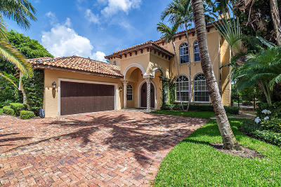 West Palm Beach Single Family Home For Sale: 129 Seville Road