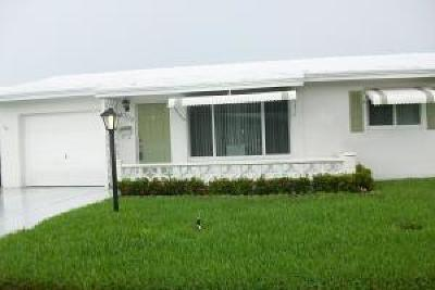 boynton beach Single Family Home For Sale: 1003 SW 3rd Way