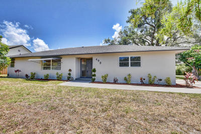 Boca Raton Single Family Home For Sale: 498 NW 13th Street