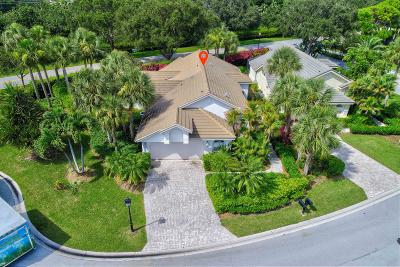Jupiter Single Family Home For Sale: 3760 Shearwater Drive