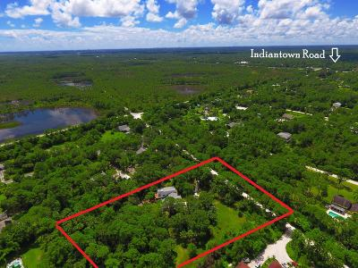 Jupiter Single Family Home For Sale: 12151 Old Indiantown Road