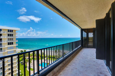 Juno Beach Condo For Sale: 450 Ocean Drive #1002