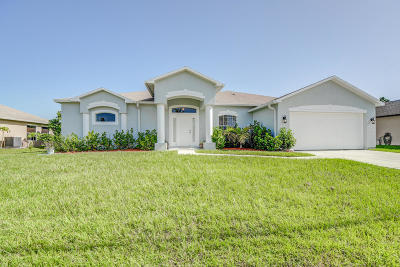 Port Saint Lucie Single Family Home For Sale: 6033 NW Winfield Drive