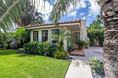 West Palm Beach Single Family Home Contingent: 332 Pilgrim Road