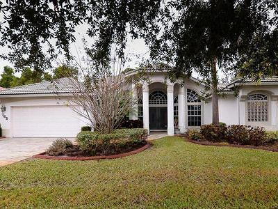 Port Saint Lucie Single Family Home For Sale: 162 SW Fernleaf Trail