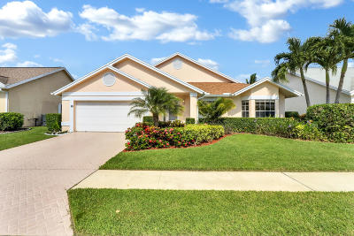 Jupiter Single Family Home For Sale: 117 Palomino Drive