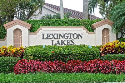Boynton Beach Single Family Home For Sale: 10297 Lexington Lakes Boulevard S