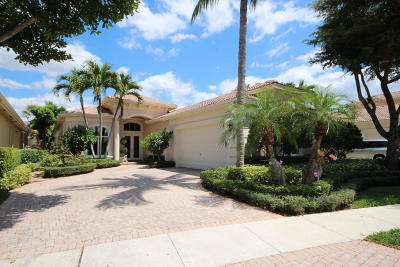 Delray Beach Single Family Home For Sale: 7897 Trieste Place