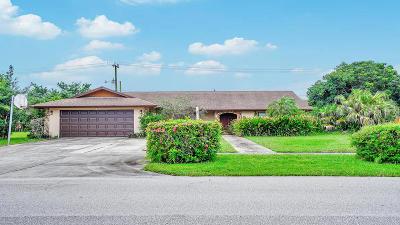 Lake Worth, Lakeworth Single Family Home For Sale: 7542 Saint Andrews Road