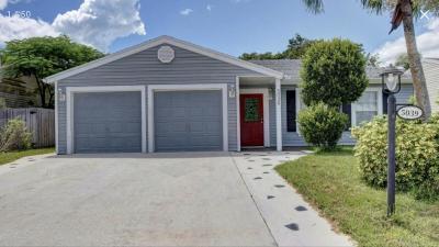 Lake Worth, Lakeworth Single Family Home For Sale: 5039 Canal Circle E