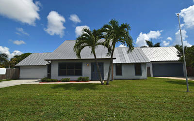 Jensen Beach Single Family Home Contingent: 641 NE Spencer Street