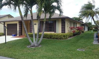 Greenacres FL Single Family Home For Sale: $205,645