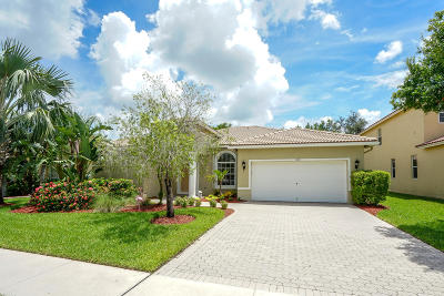 West Palm Beach Single Family Home For Sale: 1308 Stonehaven Estates Drive