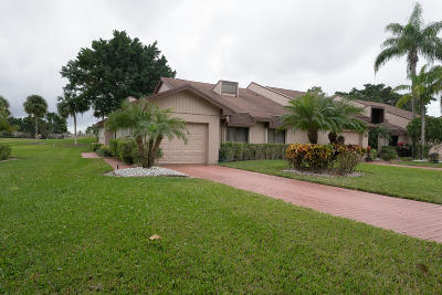 Lake Worth, Lakeworth Single Family Home For Sale: 6700 Versailles Court