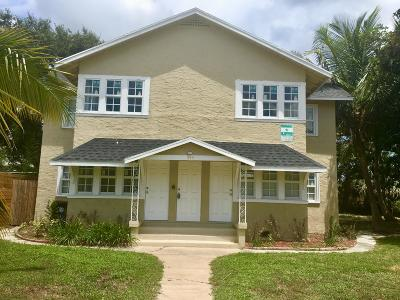 Lake Worth Multi Family Home For Sale: 314 S Federal Highway