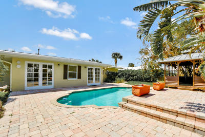 Riviera Beach Single Family Home For Sale: 1110 Morse Boulevard