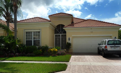 Delray Beach Single Family Home Contingent: 7028 Demedici Circle