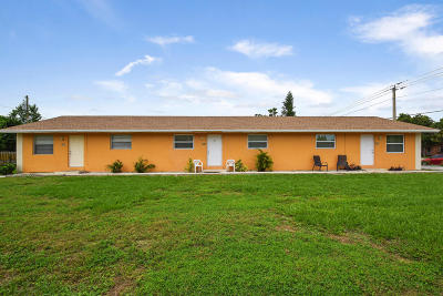 West Palm Beach Multi Family Home For Sale: 1346 Kirk Road