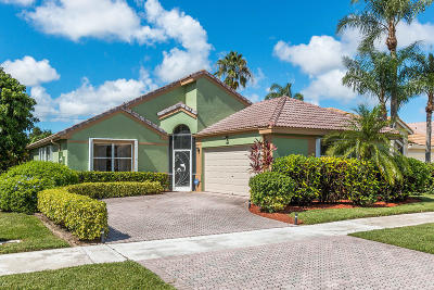 Delray Beach Single Family Home For Sale: 7656 Stirling Bridge Boulevard