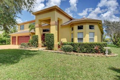 Royal Palm Beach Single Family Home For Sale: 128 Monterey Way