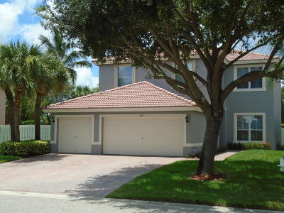 West Palm Beach Single Family Home For Sale: 5192 Victoria Circle
