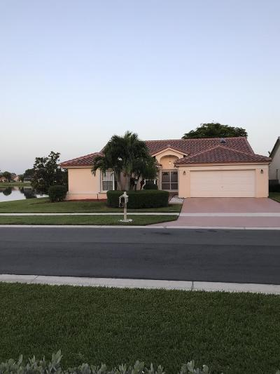 Lake Worth, Lakeworth Single Family Home For Sale: 3847 Summer Chase Court