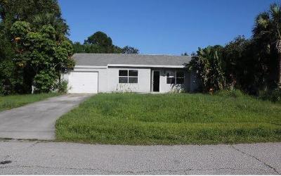 Port Saint Lucie Single Family Home For Sale: 1886 SE Dranson Circle