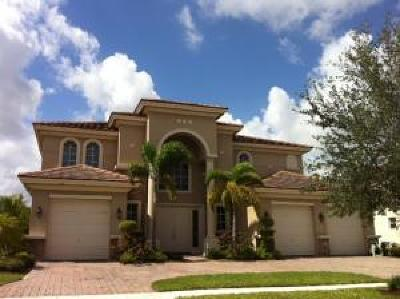 Royal Palm Beach Single Family Home For Sale: 603 Glenfield Way