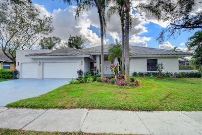 Boca Raton Single Family Home For Sale: 3290 Saint Annes Drive