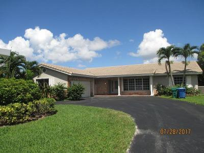 Coral Springs Single Family Home For Sale: 2850 NW 106th Avenue