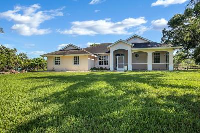 Loxahatchee Single Family Home For Sale: 16137 E Aintree Drive