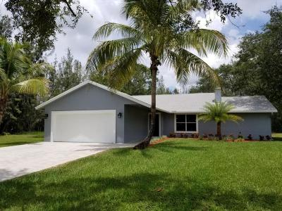 West Palm Beach Single Family Home For Sale: 5924 Avocado Boulevard