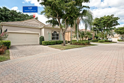 Palm Beach Gardens Single Family Home For Sale: 127 Sunset Cove Lane