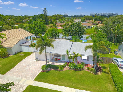 Boca Raton Single Family Home For Sale: 19501 Carolina Circle