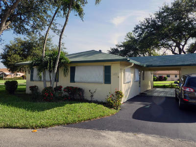 Delray Beach Single Family Home For Sale: 253 Cardinal Lane