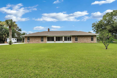 Jupiter Single Family Home For Sale: 11271 178th Road