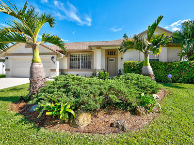 Lake Worth Single Family Home Contingent: 3699 Woods Walk Boulevard