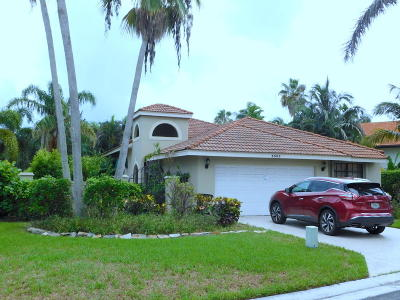 Delray Beach Single Family Home For Sale: 3505 Ensign Circle