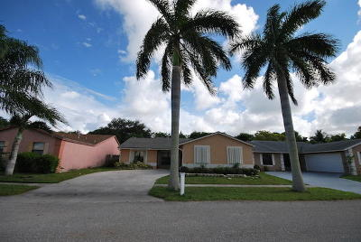 boynton beach Single Family Home For Sale: 7360 Willow Springs Circle S