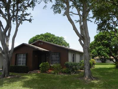 boynton beach Single Family Home For Sale: 549 SE 27th Terrace
