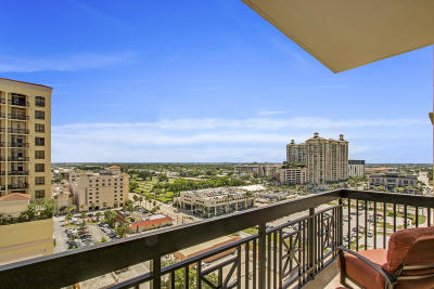West Palm Beach Condo For Sale: 701 S Olive Avenue #902