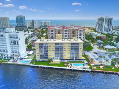Pompano Beach Condo For Sale: 615 Riverside Drive #705
