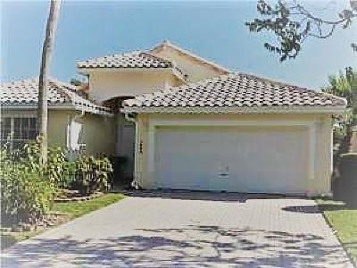 Coral Springs Rental For Rent: 5439 NW 122nd Drive