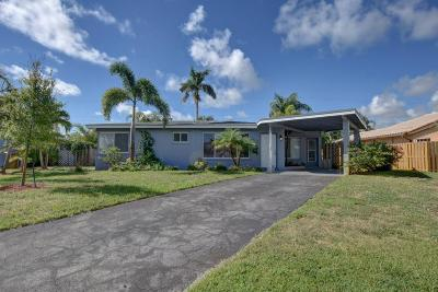 Deerfield Beach Single Family Home Contingent: 812 SE 14th Drive
