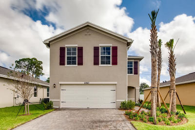 West Palm Beach Single Family Home For Sale: 6083 Wildfire Way