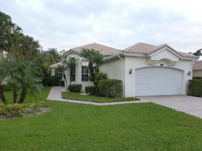 Wellington Single Family Home Contingent: 12557 Mallet Circle