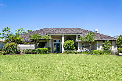 Palm City Single Family Home For Sale: 10496 SW Whooping Crane Way