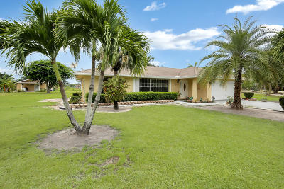 Loxahatchee Single Family Home For Sale: 16571 Rembrandt Road