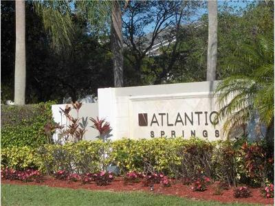 Coral Springs Condo For Sale: 11263 W Atlantic Boulevard #306